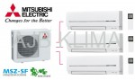 MITSUBISHI ELECTRIC MXZ-3D54VA + MSZ-SF25VA (3 szt.) INVERTER