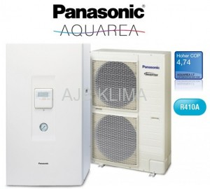 Panasonic Aquarea  kit-WC09H3E8  Q=9,0 kW  3 fazy
