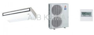 MITSUBISHI ELECTRIC PCA-RP 100KAQ / PUHZ-P 100VHA INVERTER (Mr.Slim)